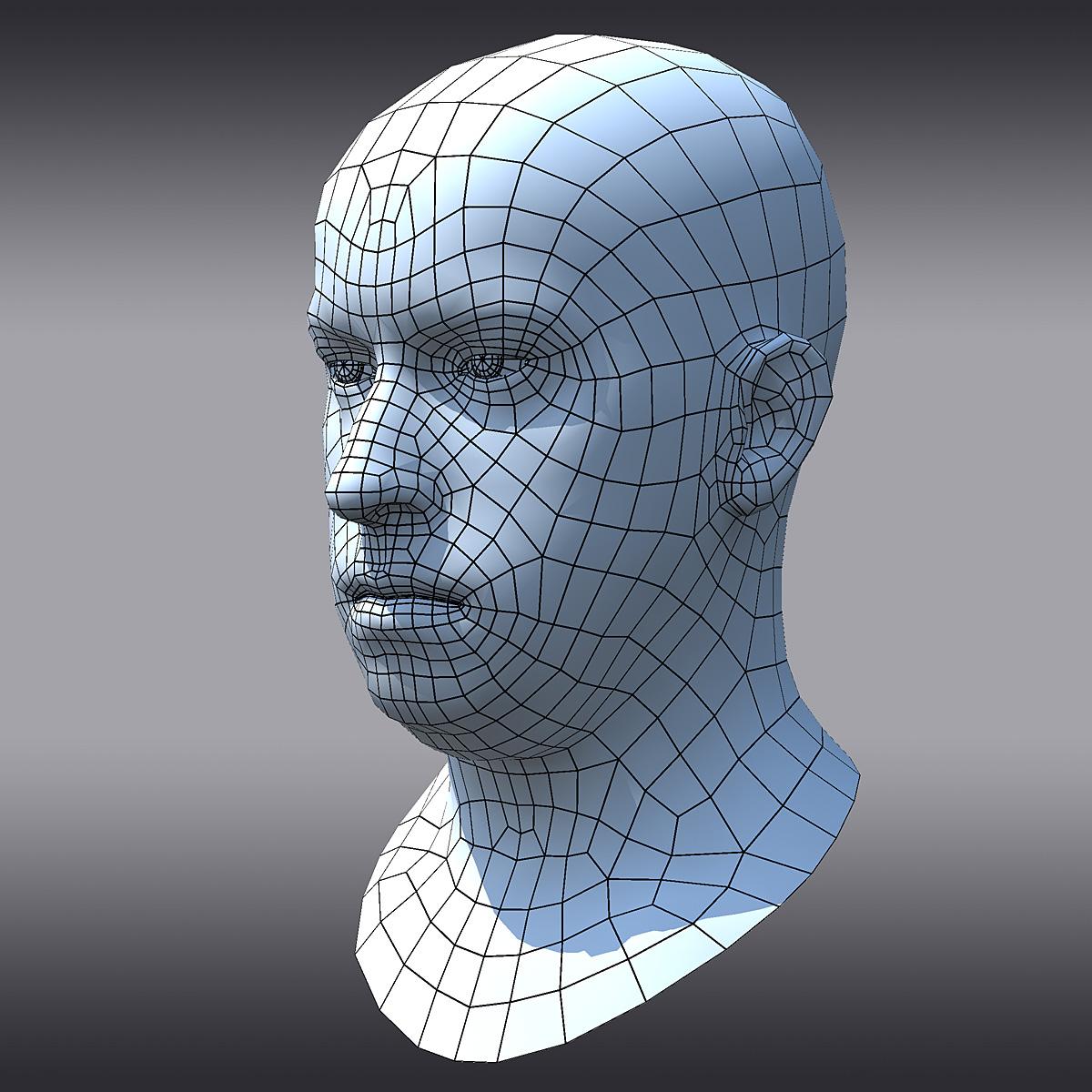 3D Male Head (Nikolay) - Digital Sculpting by Voronart