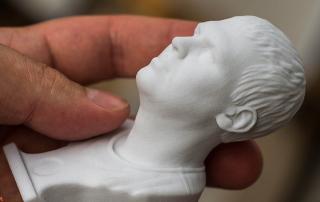 3D Печать портрета. Dmitry portrait 3d print