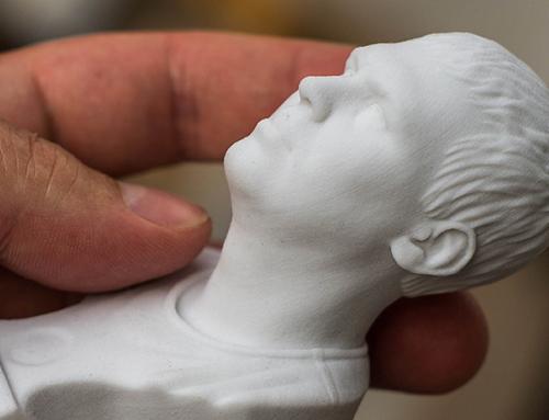 Скульптурный портрет на основе фотографий