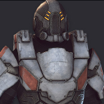 player character Body Armor 3d model