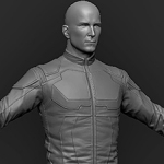 Clothing set #2 high poly 3d model sculpt