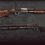 MR-133 shotgun 3d model