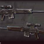 Saiga-410 shotgun 3d model