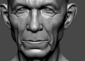 3d heads sculpting by photo