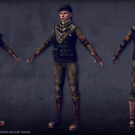 female soldier real-time 3d-character