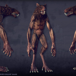 krisomord. mutant real-time 3d-character