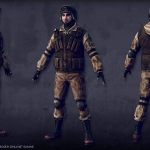 soldier real-time 3d-character
