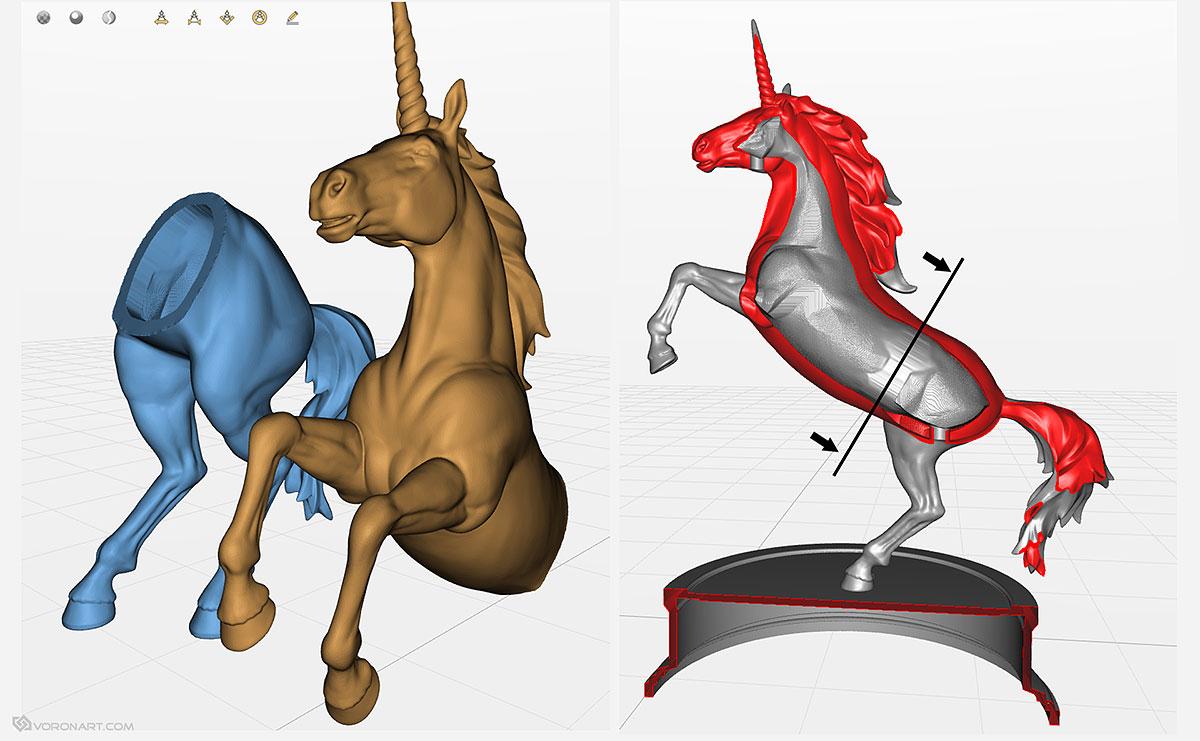 unicorn horse 3d digital - photo #21