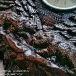 Walking bears. Bas-relief, 3D model for CNC wood carving.
