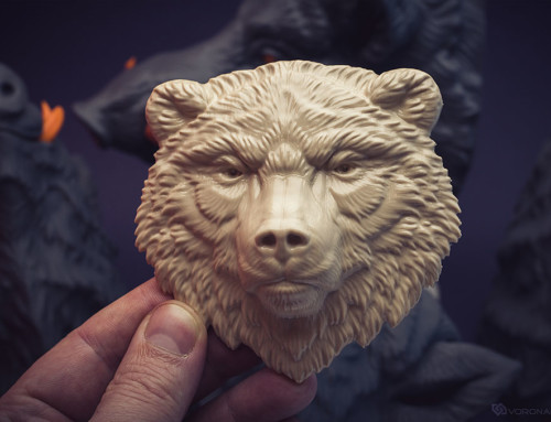 Bear relief. Work in progress